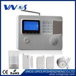 Alarmanlage-System des Selbst-Dail Sprachhinweis-intelligentes GSM/PSTN drahtloses