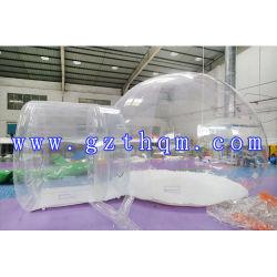 O novo estilo do quarto 2 Camping tenda bolha/Globo transparente para a piscina