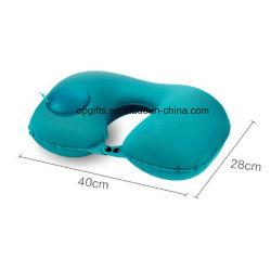 Cadeaux promotionnels forme en U du cou de voyage oreiller gonflable oreiller de l'air