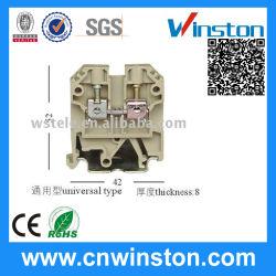 CE 포함 회색 케이블 단자 커넥터