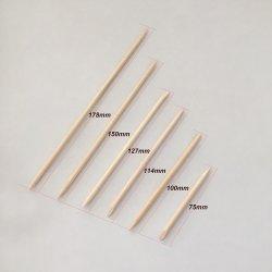 Manucure les fournitures jetables cuticule Orange Pusher Removernail Art bâton en bois pour la manucure ongles
