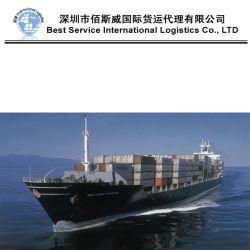 Transportes internacionais, Transporte de frete marítimo FCL Logística (20''40)