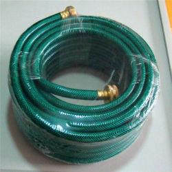 1/4 polegadas de plástico de PVC flexível de fibra reforçado trançado jardim de água de irrigação da mangueira do tubo