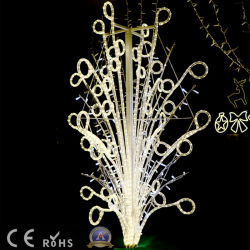 Décoration de Noël LED pour feux de Ce motif de la Jonquille de la corde
