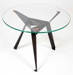 Mobilier en verre trempé de 10mm Table en verre haut de page