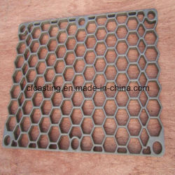 560x560x50mm resistente al calor de la base de acero inoxidable bandeja para horno continuo