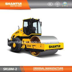 O fabricante oficial Shantui 18t mecânica vibratória Single-Drum Rolete de estrada (SR18M-2)