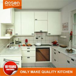 Placage de bois de teck d'achat en ligne de mobilier contemporain armoires de cuisine