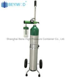 L'équipement médical de l'oxygène bouteille de gaz et accessoires