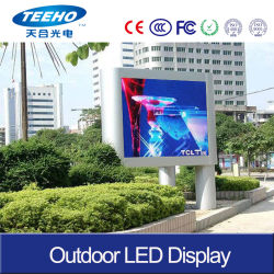 Gabinete de hierro P4 Gran Pantalla LED de exterior