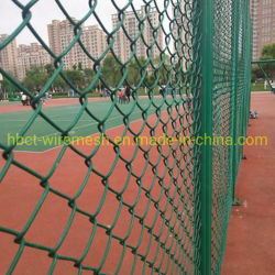 С покрытием из ПВХ звено проволочной сетки для ограждения стадиона