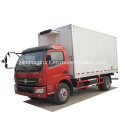 Dongfeng 5장 밴 Truck Refrigerated 판매를 위한 톤 작은 Freezer Lorry 밴 Truck Mini 냉장고 밴 Cooling Box 트럭 Reefer 냉장고 화물 자동차 차량