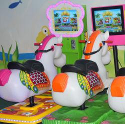最新の娯楽子供の乗車の硬貨によって作動させるビデオゲームおかしい機械