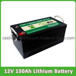 Diepe het Li-Ion van het Pak 12V 150ah van de Batterij LiFePO4 van de Cyclus ZonneBatterij