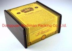 Het Houten Sigarenkistje van uitstekende kwaliteit van de Ceder/de Doos van de Gift