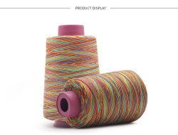 20s/2 kleurrijke Poly PolyKern Gesponnen Katoenen van de Polyester van het Garen Naaiende Draad
