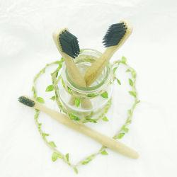 Уход за собой биологически разлагаемое бамбук природных стоматологическая очистите комплекты зубную щетку для взрослых с таможенными логотипа лазерной гравировкой