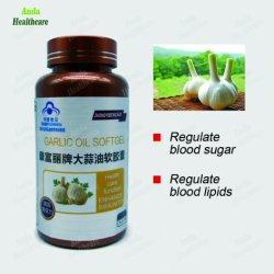 Высокое качество продуктов растительного происхождения дополнение аппетит стимулирования чеснок Softgel масла для укрепления иммунитета (0.36g/ softgel*100)