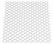 Diamond металлической сетки / реек плоский металлический сетчатый панели