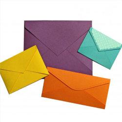 De douane Afgedrukte Kleurrijke Speciale Envelop Van uitstekende kwaliteit van de Kaart van de Gift van het Document