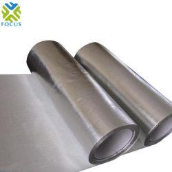 PE en aluminium revêtu de feuilles en PET métallisé/ d'aluminium de construction de film plastique de matériaux isolants