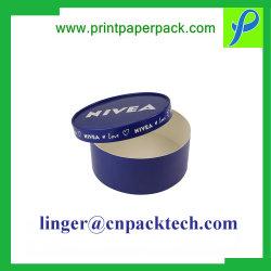 カスタマイズされた円柱ギフト用の箱のふた及びベースバージョンLED電球の容器