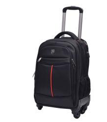 Il doppio carrello impermeabile della spalla ha spinto il sacchetto del pacchetto dello zaino del taccuino del computer portatile di viaggio d'affari con il USB (CY3757)