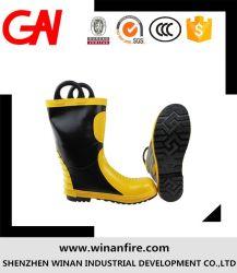 Горячая продажа оптовой защитные ботинки для противопожарной защиты