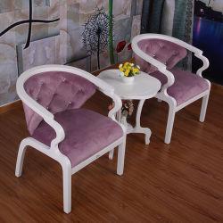 Отель цельной древесины стул Three-Piece номер дуба кольцо Председателя Китайской один диван для отдыха кресло спальня Furniturehb-333