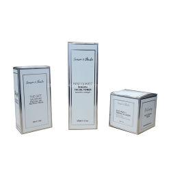 Casella di carta cosmetica stampata abitudine del prodotto della crema di fronte del cartone per l'imballaggio del profumo