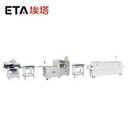 Полная производственная линия монтажа на поверхность для взаимосвязи печатных плат с электронным управлением