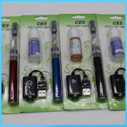 2021 preço de fábrica de cigarros de caneta Vape EGO CE4 CE5 Kit Blister