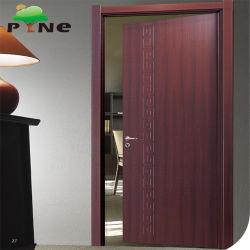 Звуконепроницаемые ламинированные деревянные двери для дома спальня