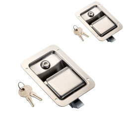 Sk1-5005 SUS304 مفتاح مزلاج غطاء السيارة القفل الصناعي