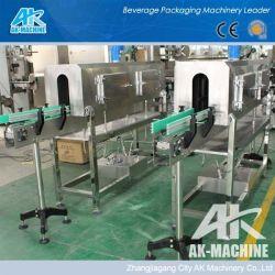 Les emballages de boissons tunnel à vapeur avec tunnel continu industriel convoyeur/tunnel de la machine d'Emballage Rétractable
