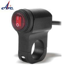 Accessori per motocicli comando on-off IP65 interruttore a bilanciere LED Whit