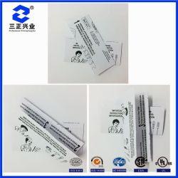 Istruzione stampata Nero-Bianca su ordinazione di funzionamento del prodotto