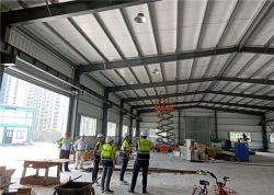 Hot-DIP Gegalvaniseerde Industriële Lichte Geprefabriceerde Pakhuis van de Structuur van het Staal voor Workshop