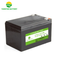Yangtze 12V 12ah bateria de lítio íon Gerador Solar