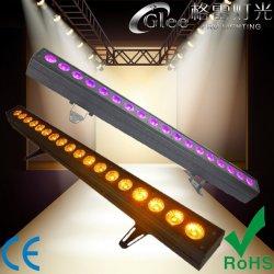 18*18W 6en1 LED Pixel mur de la barre de lavage de l'éclairage linéaire