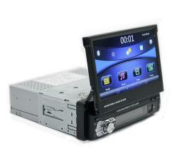 Fone de ouvido 7 polegadas lugar carro retráctil rádio DVD para leitor de MP5 9601