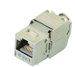 مقبس مفتاح CAT6A بقدرة 180 درجة من دون استخدام طاقة المدخل الوظيفي (FTP)