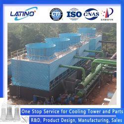 Nouveau design industriel certifié CTI Cross/contre-courant de la tour de refroidissement