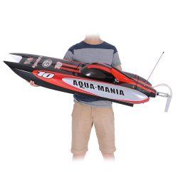 Hochgeschwindigkeits-RTR elektrisches Boot des Aqua-225bl075ap-Original der Manie-1300bp (a) 2.4G des Fiberglas-RC mit Pistole-Übermittler