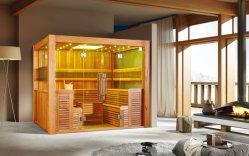 Neuer Entwurfs-traditionelle finnische Sauna mit Cer-Zustimmung