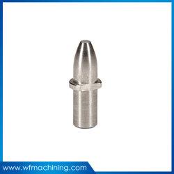 La precisión de mecanizado CNC de eje de acero inoxidable, mecánica CNC piezas