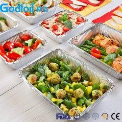 Prendre à l'écart de qualité alimentaire récipient en aluminium pour l'emballage, pour four, pour la restauration