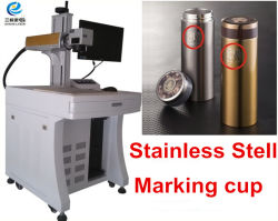 2 ans de garantie graveur laser à fibre Chargeur de téléphone de métal de la machine