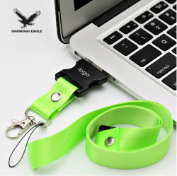 Дешевые 2.0 бесплатный индивидуальный логотип строп предохранительного пояса флэш-накопитель USB 4 ГБ 8 ГБ 16ГБ 32ГБ 64ГБ