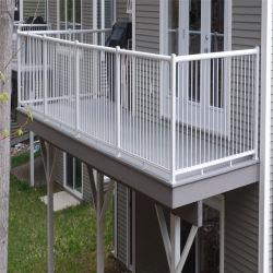 Нанесите на жилых безопасности балкон поручень ограждения